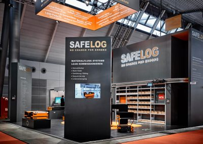 SAFELOG_AGV_LogiMAT2017_Messestand