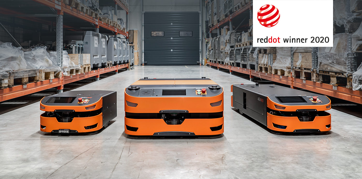 AGV product family receives RED DOT 2020 award for series design