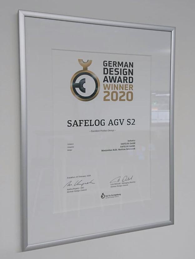 Certificate German Design Award 2020