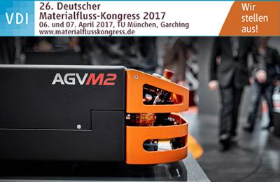 SAFELOG GmbH en el 26 Congreso Deutscher  Materialfluss Kongress 2017 que se va a celebrarar  en Múnich»  06 y 07/04/17