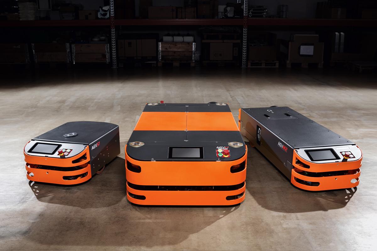 La famille VAG / AGV avec les modèles actuels S1, L1 et M2 | Photo: SAFELOG GmbH / Tom Gonsior