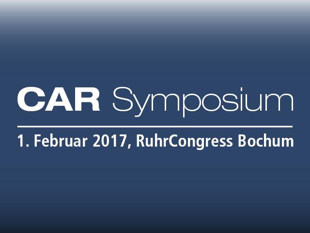 Fachvortrag von Prof. Dr. Jens Schaffer beim 17. CAR-Symposium in Bochum » 01.02.17