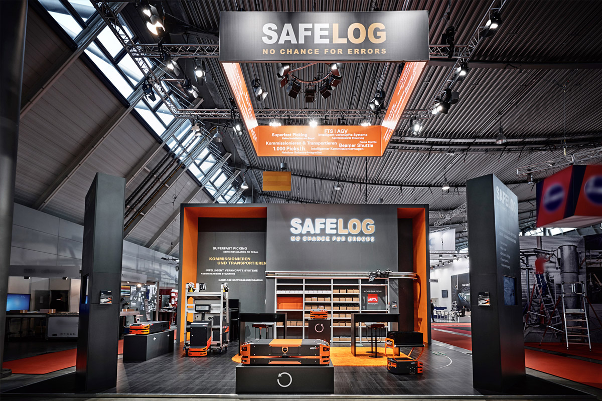 SAFELOG-Messestand