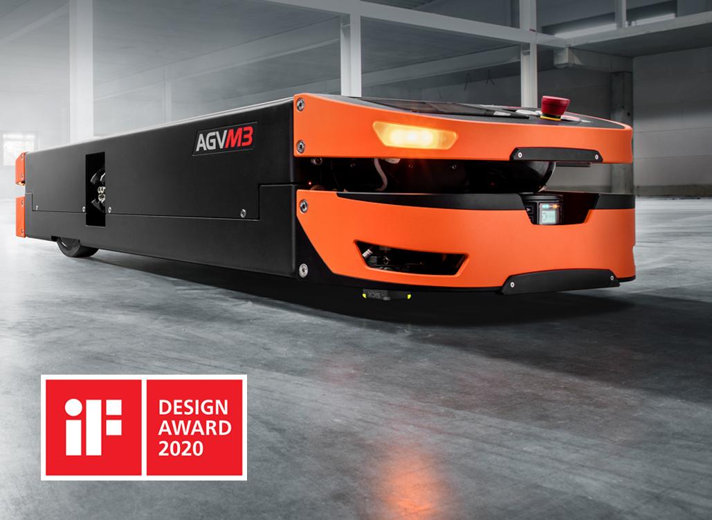 Mit dem iF Design Award 2020 ausgezeichnet: das SAFELOG AGV M3 | Foto: Josef Hoelzl
