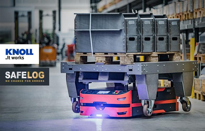 KNOLL Maschinenbau und SAFELOG fördern jetzt gemeinsam